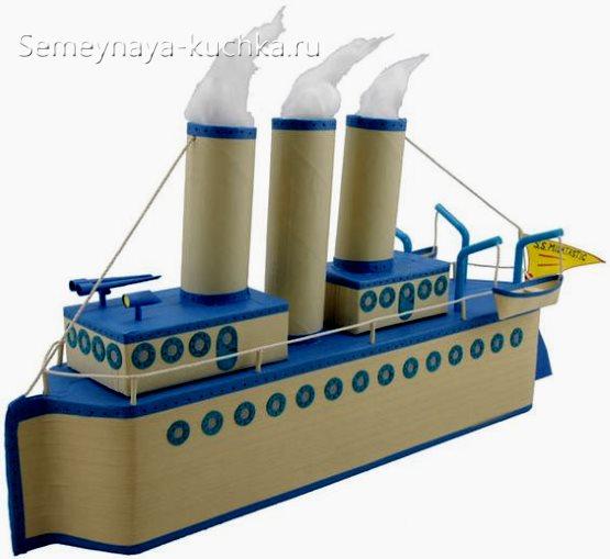 поделка корабль своими руками