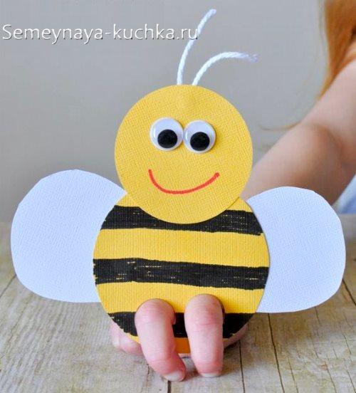 поделка пчелка на 4 года