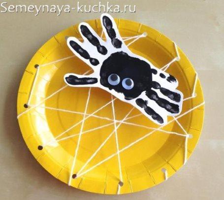 поделка паук для 4 лет