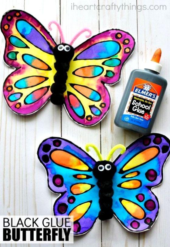 поделка бабочка для детей в 5 лет