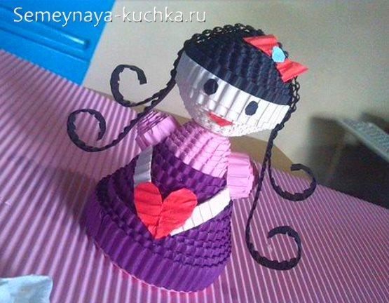 поделка в садик кукла
