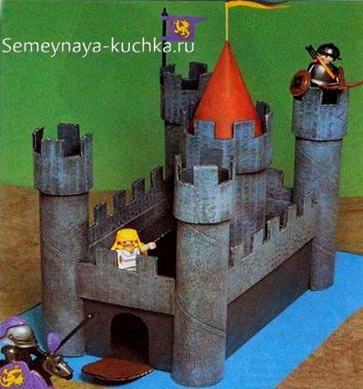поделка в садик замок рыцарский