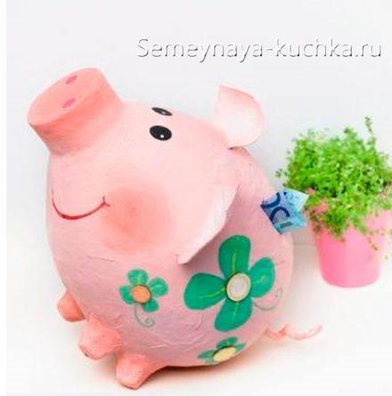 поделка в садик свинка