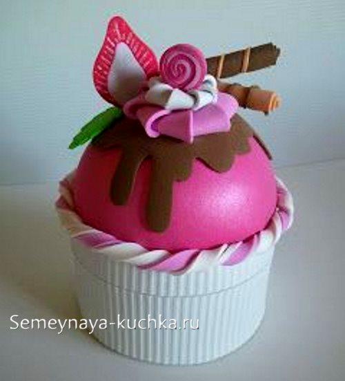 поделка в садик кекс пирожное