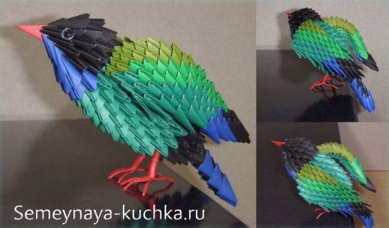 поделка из модульного оригами