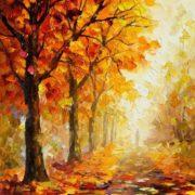 Картины ОСЕНЬ (55 способов нарисовать осенний пейзаж).