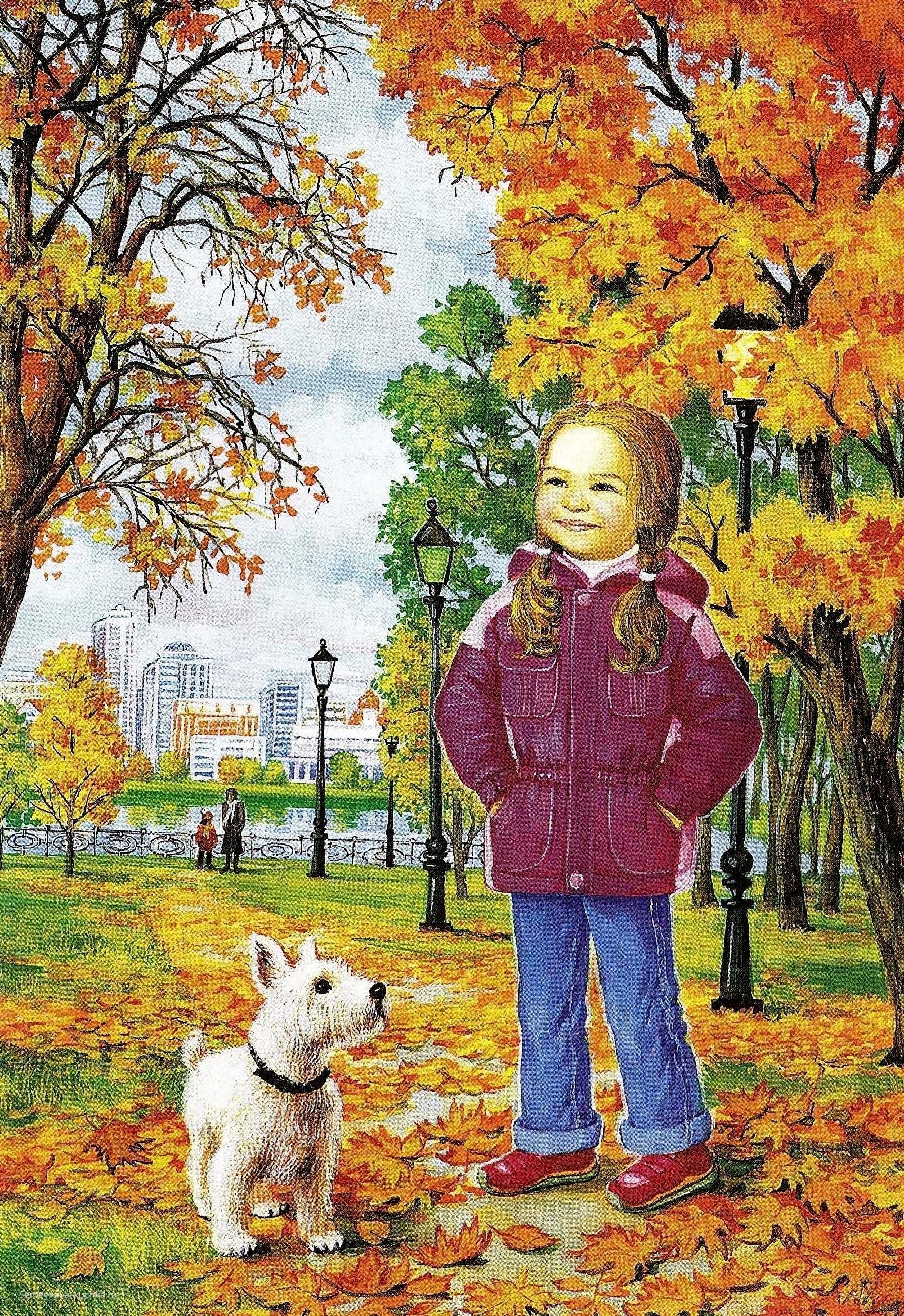 картинки осень для развития речи в детского сада