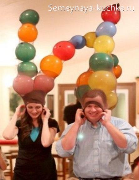 задания на квест с воздушными шарами