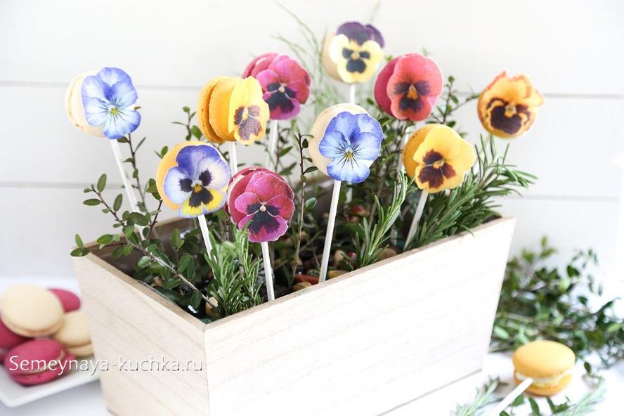 поделка цветы для мамы подарок