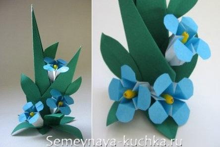 цветы для мамы сделать самим