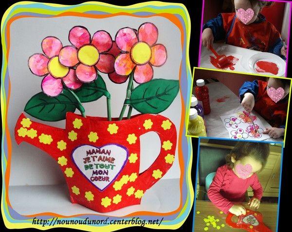 поделка в садик цветы для мамы