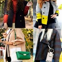 как выбрать и носить короткое пальто
