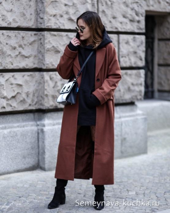 осеннее пальто стильный образ