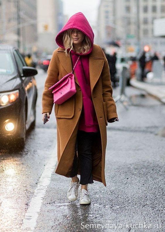 образ с пальто