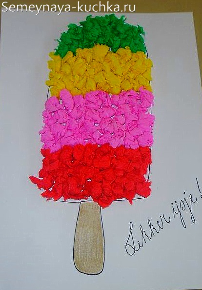поделка сладкое угощение для мамы