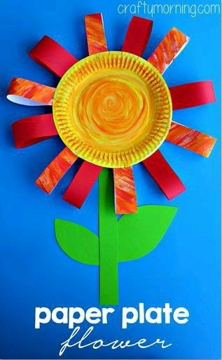 поделка цветок для мамы