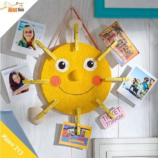 поделка солнце для мамы