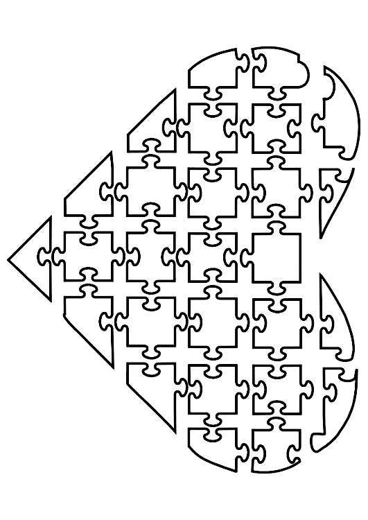 шаблон поделка раскраска для мамы