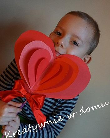 поделка сердце для мамы