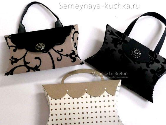 поделка сумочка для мамы