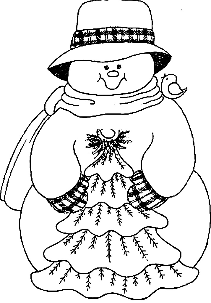 снеговик аппликация из бумаги и салфетки