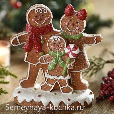поделка новогодняя в детский садик из картона