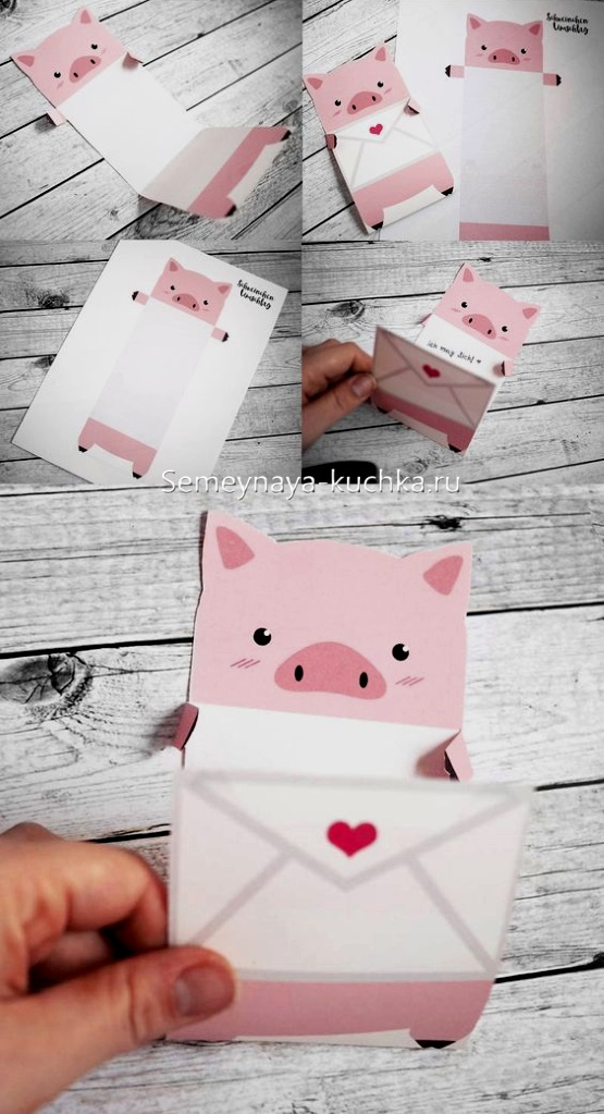 поделка свинка своими руками
