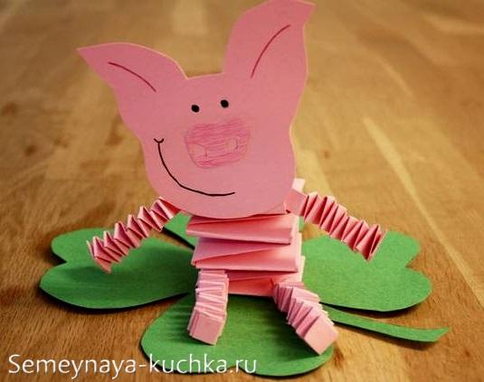 поделка свинья своими руками