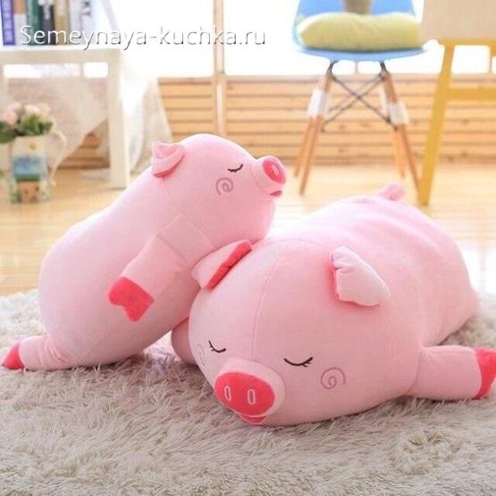 как сшить свинью