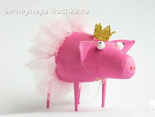 КАК сшить свинку из ткани