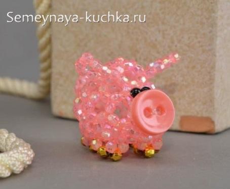 свинья из бисера