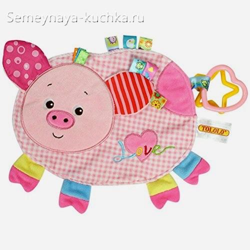 коврик свинка развивающий для детей