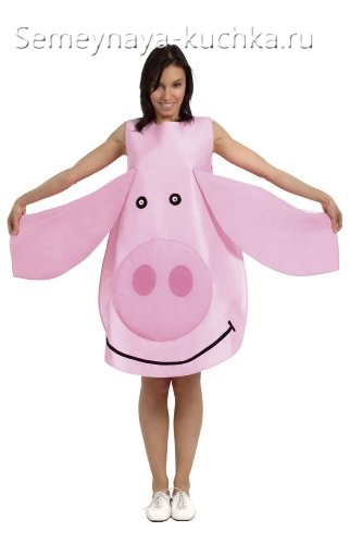 платье свинка
