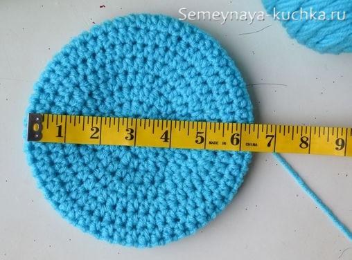 как определить размер шапки крючком