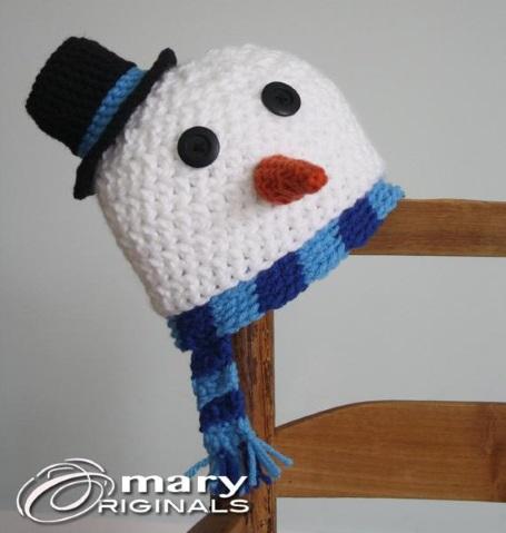 шапка крючком для детей