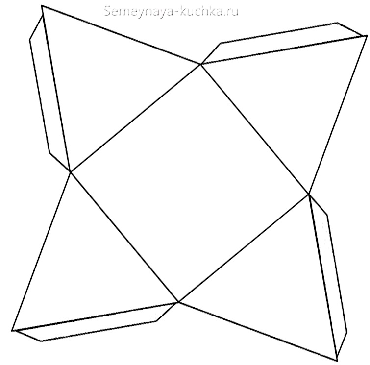 простая схема сборки пирамиды снеговика