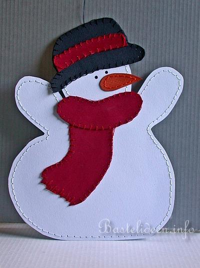 поделка в младшей группе снеговик