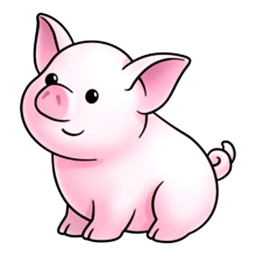 картинка свинка с новым годом