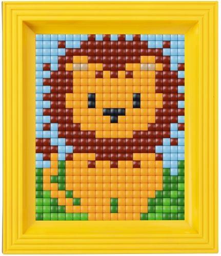 лев схема вышивка для детей