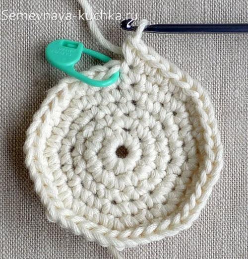 как вязать шар крючком начало вязания