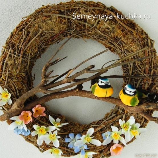 весенние поделки с птичками синичками