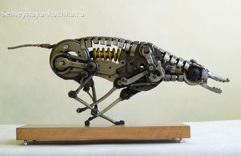 поделка собака из металла сварная своими руками