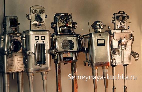 поделка из металла роботы своими руками