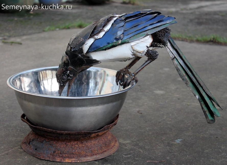 поделка из металла листового сварная птица