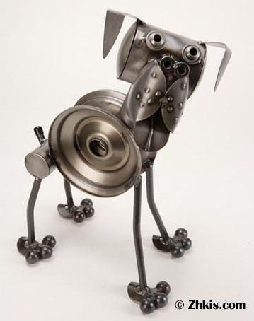 поделка из металла собака нержавейка сварка