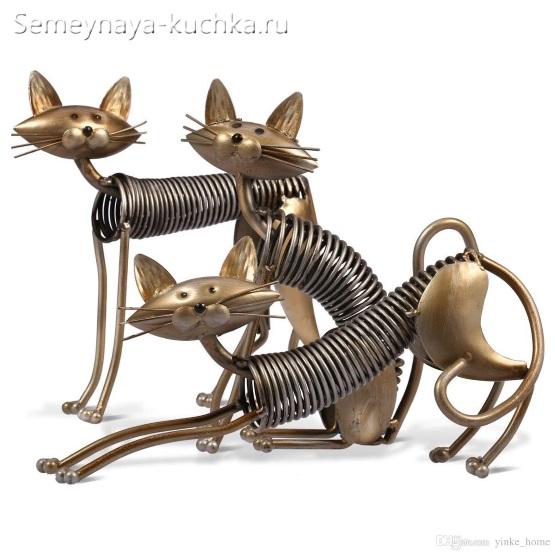 поделка из металла кошки своими руками
