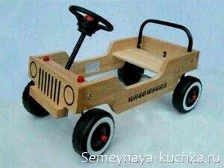 машина скамейка своими руками детская площадка