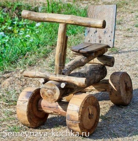 машинка деревянная игровое оборудование для детских площадок своими руками