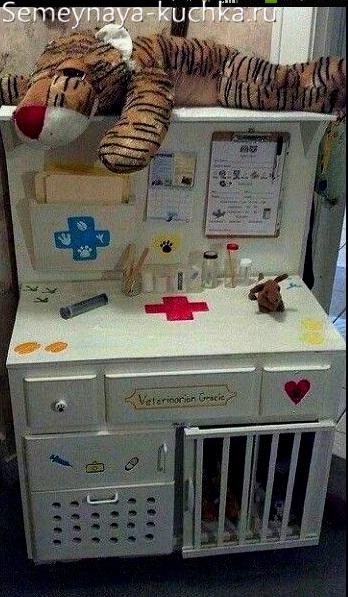 игровое оборудование медицинский пост для детской площадки
