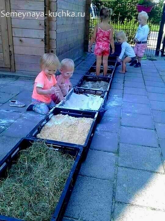 дорожка здоровья сенсорная для детской площадки